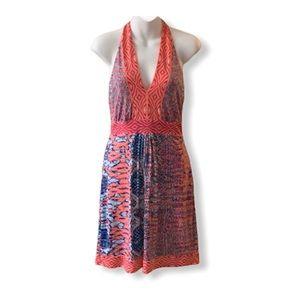 Hale Bob Adelaide Halter Dress